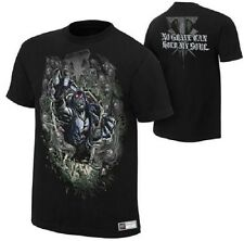 Undertaker No Grave Can Hold My Soul Black WWE Authentic T-Shirt OFFICIAL NEW