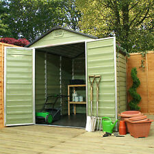 Quality Plastic Garden Storage Shed Multiple Sizes 6x3, 4x6, 6x5, 6x8, 6x10