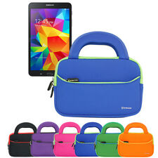 Tablet Handle Carrying Portfolio Sleeve Case For Samsung Galaxy Tab 4 7.0 / 8.0