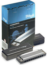 Stagg bjh-b20 Harmonica in keys A, G D and C!