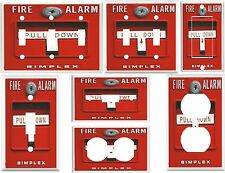 Light Switch Cover Plates - Fire Alarm Pull