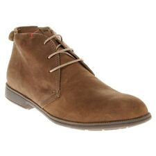 New Mens Camper Tan 1913 Leather Boots Chukka Lace Up