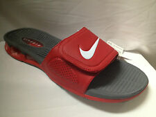 Nike Air Experience Slide-Red/Grey-NIB--Men's U.S size-487331 610