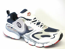 MENS ASCOT TRAINERS OXYGEN WHITE/NAVY/RED