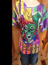 MARDI GRAS Sparkle Top Buy One Get One Free From any Shirt In Our E Bay Store