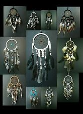 TRADITIONAL SUEDE DREAM CATCHER  various size style colour new dreamcatcher