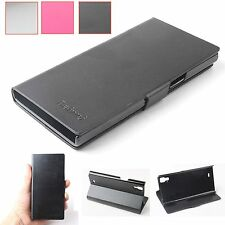 "New For THL T100/T100s CellPhone 5.0"" PU leather Flip Case Skin Protective Cover"