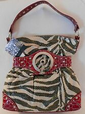 GG...ing HOBO Snakeskin Look Shoulder Bag Purse