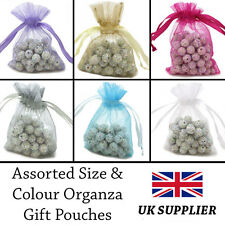 9x6,10x7cm Organza Gift Pouches Wedding Favour GIFT BAGS Jewellery Pouches