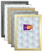 Thin Picture Photo Frame - Black, White, Beech, Cherry, Silver, Gold