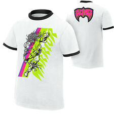The ULTIMATE WARRIOR Ringer White WWE Authentic T-Shirt Licensed OFFICIAL