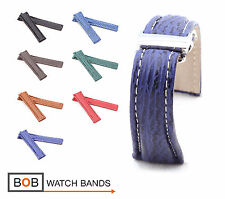 BOB Genuine Shark Deployment Strap for Breitling, 20, 22, 24 mm, 7 colors, new!