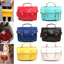New Women Ladies Shoulder Bag Satchel Tote Square Messenger Tote Handbags Purse
