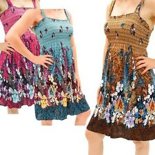 4-Pack: Flowing Print Beach Cover-Up Sundresses