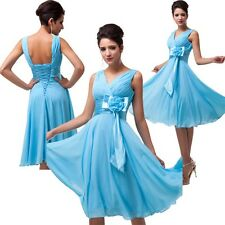 2014 HOT Short Chiffon Cocktail Graduation Evening Party Bridesmaid Prom Dresses