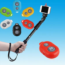 Wireless Camera Remote Shutter + Monopod + Tripod for IOS / Android Smart phones