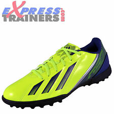 Adidas Mens F5 TRX Turf Football Trainers Yellow * AUTHENTIC *