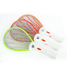 New Rechargeable LED Flashlight Mosquito Bug Zapper Electric Fly Swatter Killer
