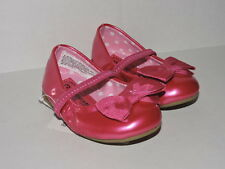 NEW Shiny Pink Infant Baby Girls Mary Janes Flats Shoes Alize Sizes 2, 3 & 4