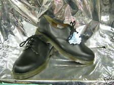 Chaussures Femmes GIBSON Noir Cuir Lacet Pied Extra Large Db 900