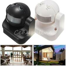 Outdoor 180° Degree Security PIR Motion Movement Sensor Detector Switch 2 Colors