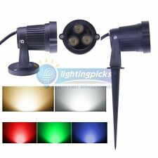 3x2W LED Landscape Garden Wall Yard Path Pond Flood Spot Light Outdoor IP65