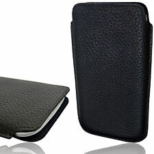 Genuine Leather Case Soft Slim Pouch Etui Sleeve Cover Design Thin Wallet Shell