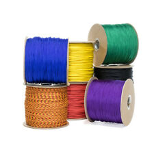 Type 1 Paracord 95 LB Tensile Strength 1 Strand 2 Ply Cord Varous Colors Sizes