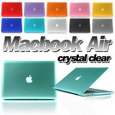 """Brand New Apple Macbook Air 11"""" 13"""" Case Crystal Glossy Clear Hard Case Cover"""