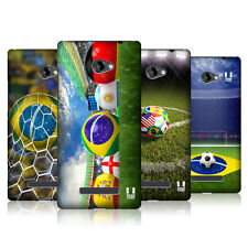 HEAD CASE FOOTBALL SNAPSHOTS PROTECTIVE COVER FOR HTC WINDOWS PHONE 8X