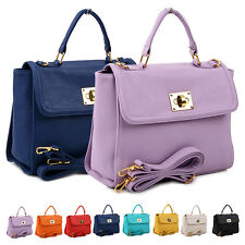NEW Women Ladies Shoulder Tote Satchel Messenger Handbags Bag Faux Leather