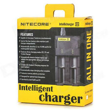 USA/EUR Plug NITECORE I2 Intelligent Battery Charger for 26650 18650 16340 14500