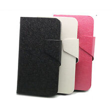 Stand Wallet Leather Case Cover + Film For ALCATEL ONE TOUCH Pop C7 ot-7041d