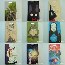 Japanese Anime Movie Studio Ghibli Japan Flip Cover Mobile Smartphone Phone Case