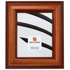 """Honey Brown 2.5"""" Wide Solid Wood Picture Frame Poster Frame (80826201)"""