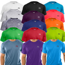 UNDER ARMOUR MENS HEATGEAR TSHIRT - SPORTS TRAINING GYM TOP - 2014 UA TECH SHIRT