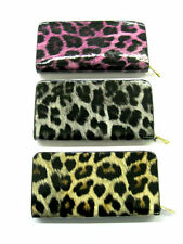 Ladies Ella Leopard Print Bifold Purse 3 Colours Available 72550