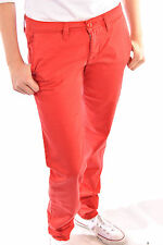 Carhartt Tess Pant Flame Hose Stoffhose Jeans Chino Red Pastell Skate BMX