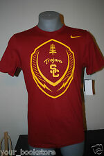 New Maroon Nike USC Trojans University of Southern California NCAA Football Tee