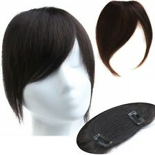 New 30g human hair clips-in/on Bangs Extra-Long Fringes Der Pony hair extensions