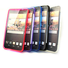 S Gel TPU Case Cover Skins + LCD Film For Huawei Ascend Mate 2 4G MT2-U071