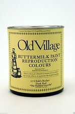 Old Village Buttermilk Paint 23 Historic Colors Available in pints or quarts