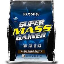 Dymatize Nutrition Super Mass Gainer 12 lbs. Pick Flavor Super Mass Gainer 12lb