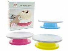 Lets Get Baking Cake Decorating Turntable Spinning Stand Rotating Disc Table