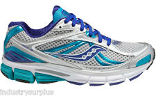 Saucony Omni 12 10206-3 Women's Silver / Blue / White Running Shoes