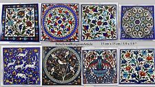 Ceramic Tile handmaid iznik style art tiles  Arabic Islamic Calligraphy