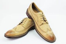 New Mens Nude Brown Ferro Aldo Shoes Brogue Original Perforation Details Lace Up
