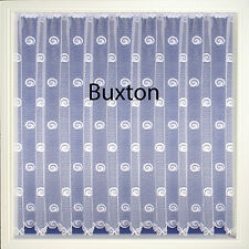 White Net Curtain Panels for windows or door lots of sizes Design BUXTON