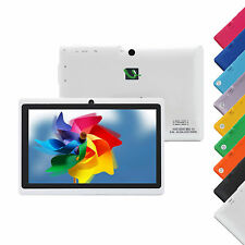 "8GB IRULU 7"" Multi-Color Tablet PC Android 4.2 A23 1.5GHz Dual Core Cameras"
