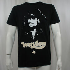 Licensed WAYLON JENNINGS Texas Self Image Photo Slim-Fit T-Shirt S-2XL NEW